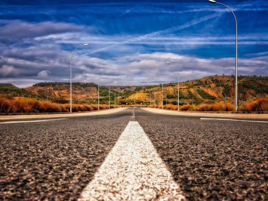 Färgad asfalt ger oanade möjligheter